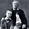 1878. Зигфрид Вагнер с отцом