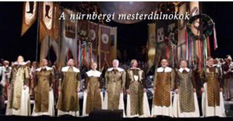 """""""Майстезингеры"""" в Будапеште. К сожалению, сайт театра не может порадовать качественными фото спектаклей..."""