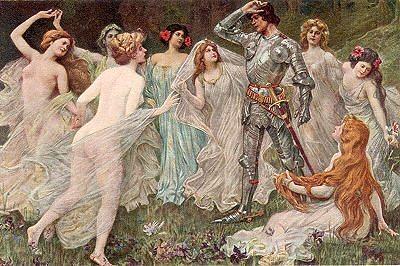 Парсифаль и девушки-цветы