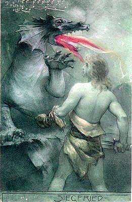 Зигфрид и дракон