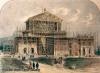 1875. Театр во время строительства